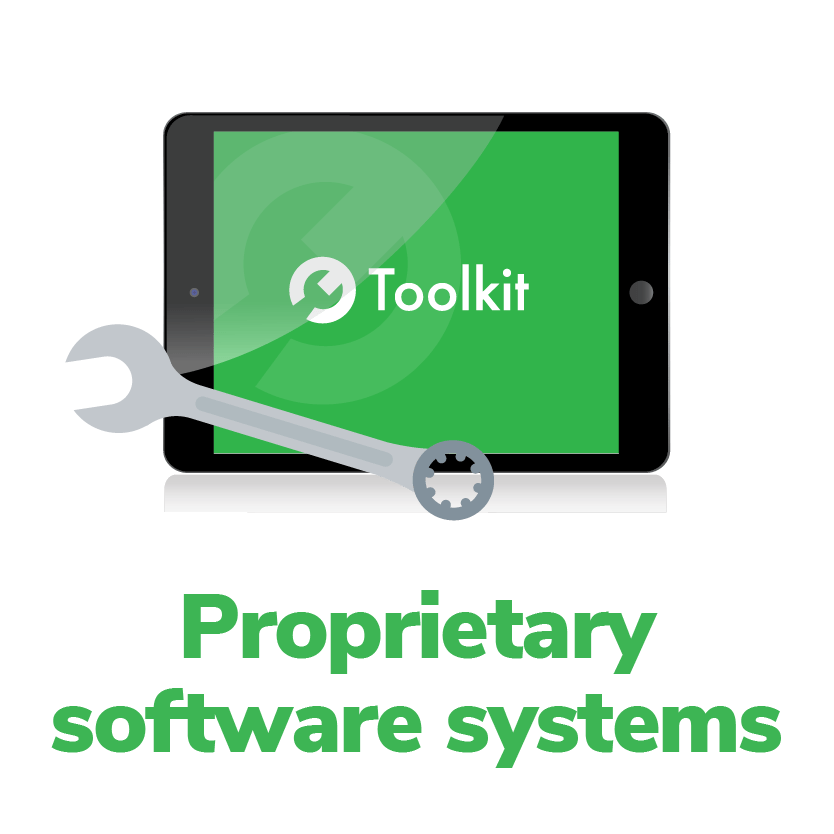 proprietary software systems