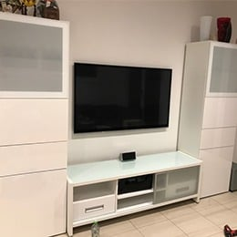 Entertainment and wall units