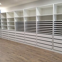 Shelving and drawer units
